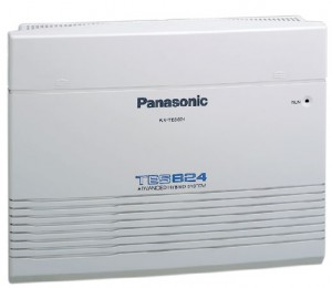 Tổng đài Panasonic 824, 3 trung kế, 8 thuê bao