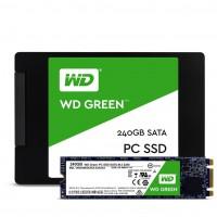 Ổ cứng thể rắn SSD WD Green 240GB WDS240G1G0A - 2.5 inches, TLC, R/W 540/465, SATA3 6Gbps