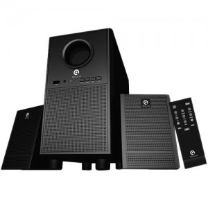 Loa 2.1 I-Sound SP-210, 20Hz - 20KHz, công suất 10W, >40dB, usb, FM, có khiển