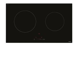 Bếp điện từ đôi Amica VHI72520STU, CS 4,85 KW, mặt bếp bằng kính Shott Ceran Made in Germany, có nút cảm ứng, xuất xứ Ba Lan.