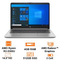 "MTXT HP 245 G8 469W0PA R3 5300U/4GB/512GB SSD PCIe/14"" HD/FP/Win10H/Silver"
