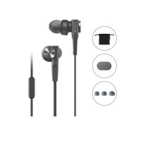 Tai nghe Sony EXTRA BASS MDR-XB55AP In-ear - màu đen - màng loa 12mm loại vòm; dây 1.2m; 8g