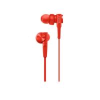 Tai nghe Sony EXTRA BASS MDR-XB55AP In-ear - màu đỏ - màng loa 12mm loại vòm; dây 1.2m; 8g