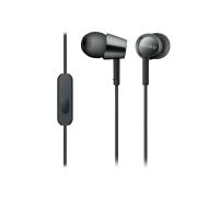Tai nghe Sony MDR-EX155AP In-Ear - màu đen - màng loa 9mm; 5-24.0000Hz; dây 1.2m; 3g