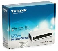 Bộ Chia Tín Hiệu Để Bàn 8 cổng 10/100Mbps TL-SF1008D