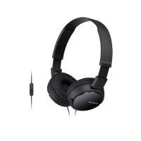 Tai nghe Sony MDR-ZX110AP On-Ear - màu đen - màng loa 30mm; 12-22.0000Hz; Micro In-Line; dây 1.2m; 120g