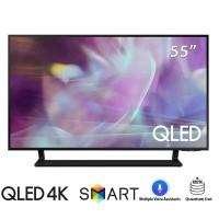 TV Samsung 55-inch QLED 4K Q60A - Công nghệ Quantum Dot,đèn nền Dual LED,Multiple Voice Assistants