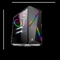 Vỏ case máy tính Jetek game 9311B - Màu đen