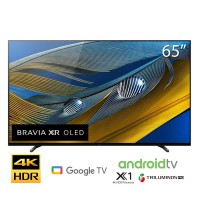 TV SONY 65 inch OLED 4KXR-65A80J ( Smart, Android 10, VoiceSeach,Tràn viền, khung viền Titan,Loa 30W 2.1,Cognitive Processor XR