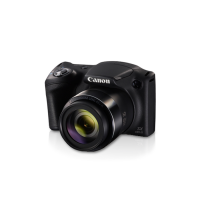 Canon PowerShot SX430IS - Đen - CCD 20Mpx 4:3 2.3; DIGIC 4+; Zoom 45x; LCD 3.0