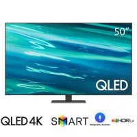 TV Samsung 50-inch QLED 4K Q80A 2021 - Tizen; Direct Full Array; PQI 3200; BT4.2; Loa 2.2 40W; 230W