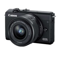 "Máy ảnh Canon EOS M200 Body EF-M mount - Black - Mirorless; 24.1Mpx; 143 AF areas; LCD 3"" 180°; Zoom 3x;"