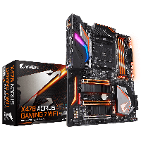 GIGABYTE™ GA-X470 AORUS GAMING 7 WIFI - AMD X470 chipset - Socket AM4 Support for AMD Ryzen™ processor/AMD 7th Generation A-series/ Athlon™ processor