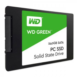 Ổ cứng thể rắn SSD WD Green 240GB WDS240G2G0A - 2.5 inches, TLC, R/W 545/465, SATA3 6Gbps