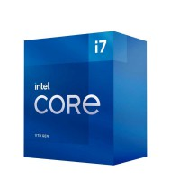 Bộ VXL Intel Core i7-11700 - 8x2.5GHz, 16MB, 14nm, UHD750 350Mhz,  65W, LGA1200, Comet lake, hàng chính hãng
