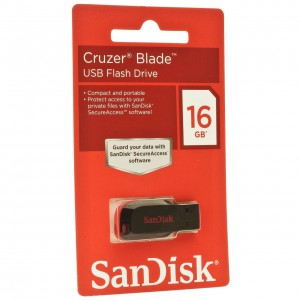 USB Sandisk 16GB 2.0 - SDCZ50-016G-B35