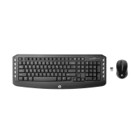 Bộ bàn phím chuột không dây HP - J8F13AA