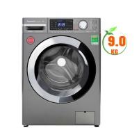 Máy giặt cửa trước Panasonic 9,0kg inverter NA-V90FX2LVT(1.400v/p,Hệ thống ActiveFoam,Màu thân máy:Xám Bạc)