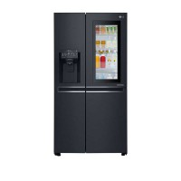 Tủ lạnh LG Instaview Door-in-Door 601L GR-X247MC(Inverter,Lấy nước,đá ngoài cửa tủ,Giá đựng rượu,Matte Black Steel)