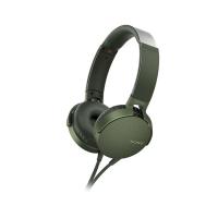 Tai nghe Sony EXTRA BASS MDR-XB550AP - màu xanh lá - màng loa 30mm loại vòm; dây 1.2m