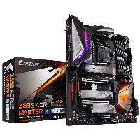 GIGABYTE™ GA-Z390 AORUS MASTER- Intel Z390 chipset - Socket LGA 1151 Support for Intel® 9th Gen Core™ i7/i5/i3/Pentium®/Celeron® LGA1151