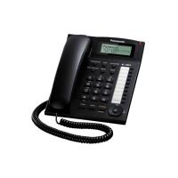 Điện thoại bàn Panasonic KX-TS880 - Mầu đen, Danh bạ lưu 50 số, Loa ngoài 2 chiều, Đèn báo chờ tin nhắn