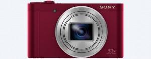 """Máy ảnh Sony Cyber-shot WX500 - Red - 18.2MP; zoom 30x; LCD 3.0""""; kết nối Wifi & NFC"""