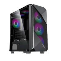 Vỏ máy tính Gamemax Revolt G3606 - ATX, 3 fan tản nhiệt
