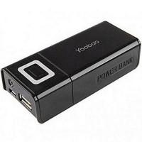 Pin sạc dự phòng Yoobao YB602, 4800mAh - thiết kế nhỏ gọn, thời trang, Màu đen;