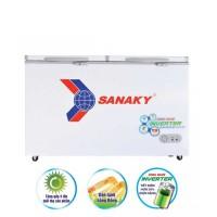 Tủ đông mát Sanaky 200L Inverter VH-2599W3(2 ngăn:1 đông, 1 mát, dàn: Đồng)