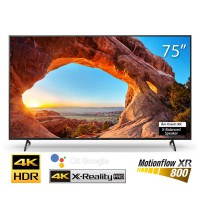 TV Sony75 -inch 4K 75X86J viền đen- Android OS, 4K X-Reality PRO, Dynamic Contrast Enhancer, Live Colour™, HLG, HDR10, Dolby Vis
