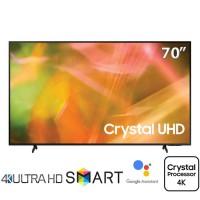 TV Samsung 70-inch 4K AU8000 - Bộ xử lý Crystal 4K,Thiết kế AirSlim,Bixby, Amazon Alexa và Google Assistant
