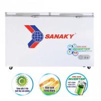 Tủ đông Sanaky 761L inverter VH-8699HY3(1 ngăn đông,2 cánh,6 bánh xe chịu lực,Dàn:Đồng)