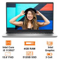"MTXT Dell Inspiron 15 3511 P112F001BBL Intel Core i5 1135G7/4GB+1slot/512GB/15.6"" FHD/Win10H+OfficeHS19/Black"