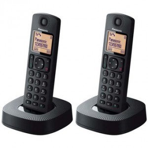 Điện thoại bàn Panasonic KX-TGC312CXB Black, (1 máy mẹ - 1 tay con)