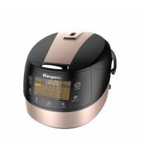 Nồi cơm điện tử Kangaroo 1.8 lít KG18DR8, 1.8L, lòng nồi phủ Ceramic dày 1.970 mm, điều khiển cảm ứng tiếng Việt