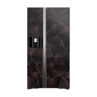 Tủ lạnh SBS Hitachi 569L Inverter R-FM800XAGGV9X-GBZ(3 cửa,Lấy nước&đá ngoài,Ngăn chân không,Cửa tự động)