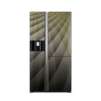 Tủ lạnh SBS Hitachi 569L Inverter R-FM800XAGGV9X-DIA(3 cửa,Lấy nước&đá ngoài,Ngăn chân không)