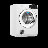 Máy sấy quần áo Electrolux 8,0kg EDS805KQWA - Máy sấy hơi; Công nghệ sấy đảo chiều; Cảm biến thông minh; Màu trắng; Cửa: Crom