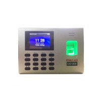 Máy chấm công vân tay + mật mã RONALD JACK DG1200 Tích hợp hệ thống đóng mở cửa Assess Control Lấy dữ liệu qua USB, Mạng