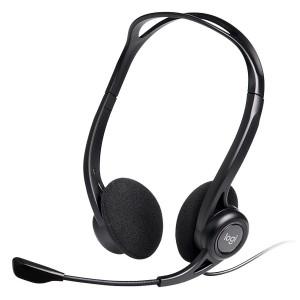 Tai nghe on-Ear Logitech kèm mic H370 – USB 1.8m