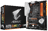 GIGABYTE™ GA-AX370-Gaming 5 - AMD X370 chipset - Socket AM4 Support for AMD Ryzen™ processor/AMD 7th Generation A-series/ Athlon™ processor