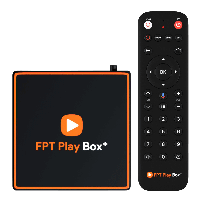 FPT Play Box+ T550 4K+ Voice Remote Wifi/BT5/HDMI/USB 3.0/Audio 5.1(CPU AML S905X2,GPU Mali G31,RAM 2GB,ROM 16GB)