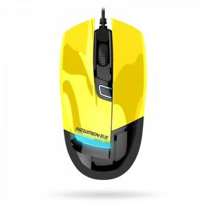 Chuột quang gaming NEWMEN G10-YL (Vàng) - USB/4 nút/800-1600CPI/MS-282OU