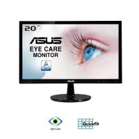 Màn hình Asus 19.5-inch VS207DF - TN 1366x768; 200cd/m2; 5ms; D-Sub; VESA Mount;12W