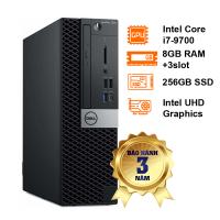 Máy tính để bàn Dell Optiplex SFF 7070 (KY4WH) Intel Core i7-9700/8GB+3Slot/256GB PCIe M.2+ 3.5/WFAC+BT5/DP+HDMI/Key/3Y Pro-KYHD