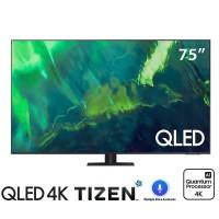 TV Samsung 75-inch QLED 4K Q70A - Tizen OS; Bộ xử lý Quantum 4K,Dual LED,Multiple Voice Assistants