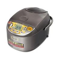 Nồi cơm điện tử Zojirushi NS-YSQ10-XJ, 1.0L, 560-610W, chức năng nấu cơm gạo lứt nảy mầm GABA Brown