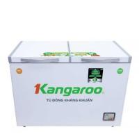 Tủ đông mát Kangaroo 230L inverter kháng khuẩn KG320NC2(2 ngăn–2 cánh,xả tuyết bán tự động,dàn:Đồng)