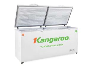 Tủ đông kháng khuẩn Kangaroo 620L KG688C2 (Dàn đồng,2 cánh 2 ngăn,Lòng nhôm sơn tĩnh điện phủ Nano bạc)